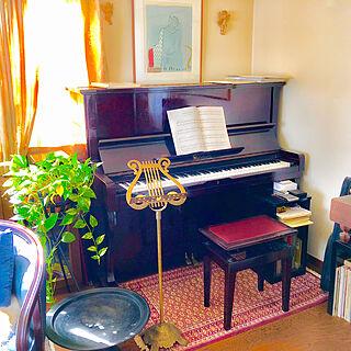 同棲2LDK、楽譜に関するsoleilさんの実例写真