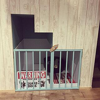 リビング/ドッグハウス/ドッグゲージ/ドッグスペース/階段下わんこ部屋...などのインテリア実例 - 2018-09-30 20:34:41