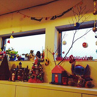リビング/natural kitchen &/ナチュラルキッチン クリスマス/無印のクラフトツリー/flying tigerのおうちboxのインテリア実例 - 2014-12-01 08:03:10