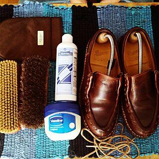 ベッド周り/ダナー/Danner/靴好き/靴磨き...などのインテリア実例 - 2015-03-01 15:07:36