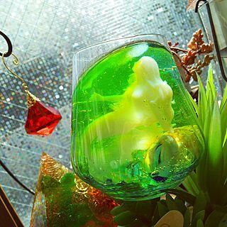 女性同棲2DK、人魚の部屋に関するWASABIさんの実例写真