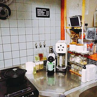 キッチン/ニトリ/セリア/100均/コーヒーのある暮らし...などのインテリア実例 - 2020-02-17 00:45:13