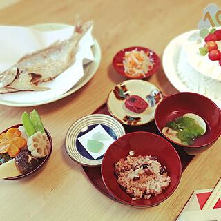 キッチン/ヤチムンの小皿/お食い初め/モモナチュラル/シーグラス...などのインテリア実例 - 2020-09-04 21:51:33