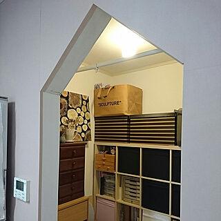 棚/おうち型/垂れ壁/垂れ壁DIY/DIY...などのインテリア実例 - 2020-01-28 22:01:23