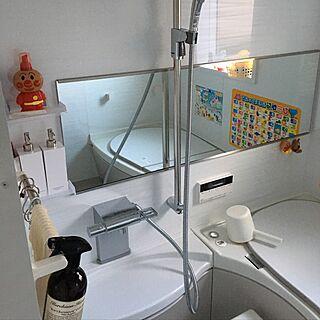 女性38歳の家族暮らし4LDK、マイクロバブルに関するjuriさんの実例写真