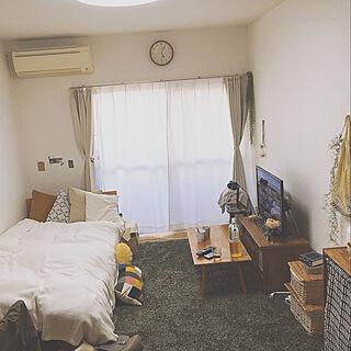 部屋全体/ひとり暮らし/ワンルーム/狭い部屋 /男前化計画...などのインテリア実例 - 2018-04-16 18:32:32