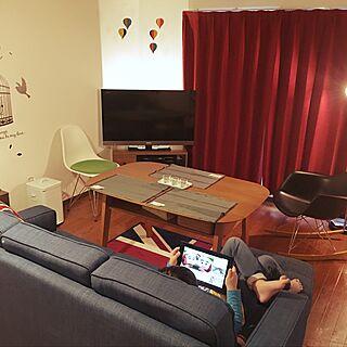 男性44歳の家族暮らし3LDK、サイドシェルに関するTomofumiさんの実例写真