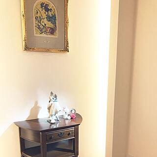 女性28歳の家族暮らし4LDK、シャガールに関するasaさんの実例写真