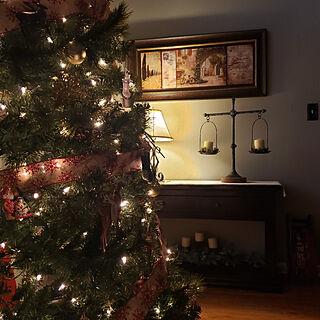 壁/天井/寒くなってきました/寒い朝*/クリスマスツリー☆/ツリーライト...などのインテリア実例 - 2020-12-08 21:58:09