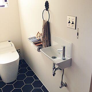 女性家族暮らし3LDK、toilet に関するtoitoiさんの実例写真