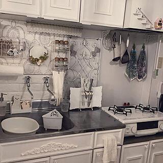 キッチン/ナチュラル/アンティーク/DIY/モノトーン...などのインテリア実例 - 2019-11-23 17:32:25