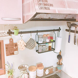 女性家族暮らし3LDK、カッティングボードリメイクに関するcocomaroさんの実例写真