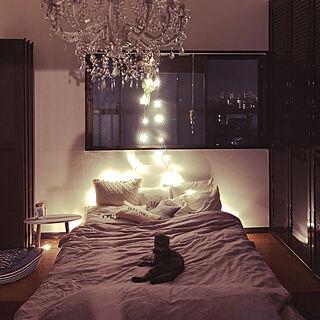 女性28歳の同棲、猫ベッドに関するcaramelさんの実例写真