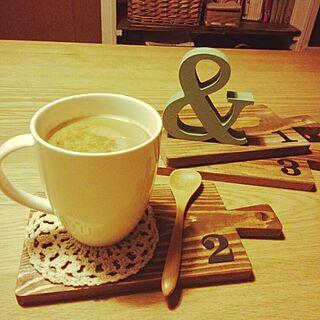 キッチン/リメイク/キャンドゥ/100均ばっかり 笑/cafeのインテリア実例 - 2015-04-08 22:21:39