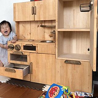 女性53歳の家族暮らし4LDK、収納家具に関するMikakoさんの実例写真