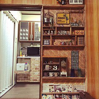 リビング/雑貨/DIY/セリア/Come home!...などのインテリア実例 - 2015-12-03 17:55:41