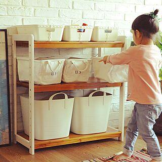 棚/おもちゃ棚/おもちゃ箱/収納ボックス/収納棚...などのインテリア実例 - 2017-01-25 13:03:42