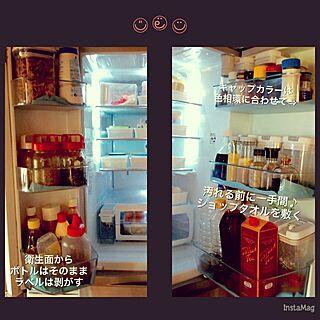 キッチン/冷蔵庫/こんにちは⑅◡̈*❁/毎日がHappy♡/丁寧に暮らしたい (ॢ˘⌣˘ ॢ⑅)❤︎...などのインテリア実例 - 2016-04-02 14:11:04