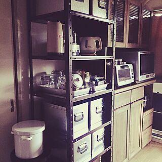女性家族暮らし、無印トタン缶に関するsorastoreさんの実例写真