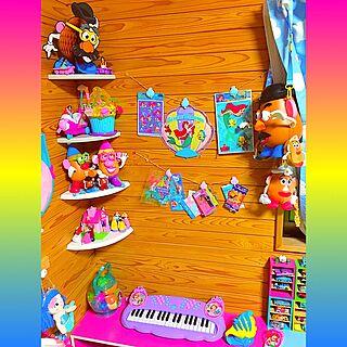 壁/天井/キーボード/バービー/barbie/KIDS...などのインテリア実例 - 2016-08-12 22:26:48
