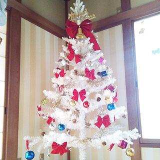 ベッド周り/セルフリフォーム中/こどもと暮らす。/中古住宅/クリスマスツリー...などのインテリア実例 - 2018-11-18 12:51:43