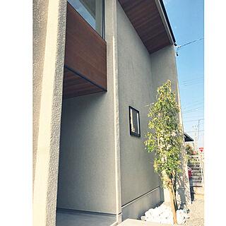 玄関/入り口/外壁/FIX窓/外観/レッドシダー...などのインテリア実例 - 2017-12-07 01:07:25