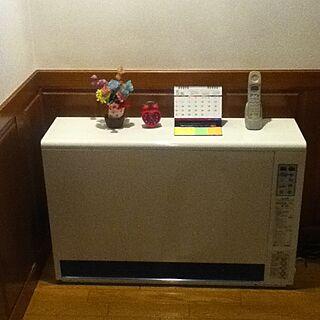 女性24歳の家族暮らし、蓄熱式電気暖房機に関するAmiさんの実例写真
