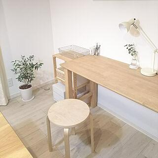 女性家族暮らし、IKEA 机に関するkoko.さんの実例写真