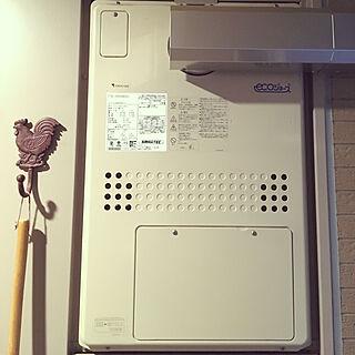 女性39歳の家族暮らし4LDK、ガス給湯器に関するsatomisatoさんの実例写真