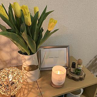 chilltime/お花のある暮らし/間接照明のある暮らし/キャンドル/雑貨...などのインテリア実例 - 2020-02-22 23:16:50