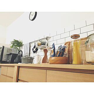 キッチン/IKEA/新築/無印良品/STAUB/サブウェイタイル...などのインテリア実例 - 2016-10-09 02:06:28