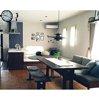 女性家族暮らし3LDK、オープンキッチンに関するMisakiさんの実例写真