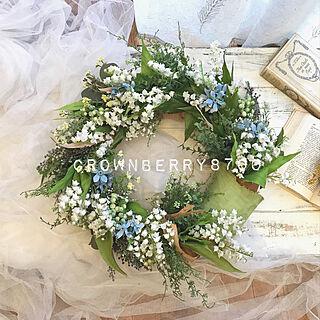壁/天井/鈴蘭/開店祝い/花のある生活/Flowers...などのインテリア実例 - 2019-01-20 06:03:02