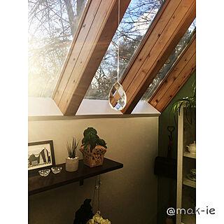 スカイライト/トップライト/自分スタイル/古い家/キッチンヌックスペース...などのインテリア実例 - 2020-03-10 07:07:30