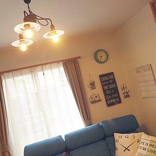 リビング/照明/照明マニア/照明は男前/照明を変えました!...などのインテリア実例 - 2015-10-23 09:33:38