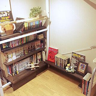 、カフェ風??本棚に関するayumiさんの実例写真