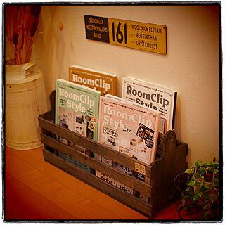 リビング/すのこリメイク/マガジンラック/RoomClipStyle vol.4/セリア...などのインテリア実例 - 2016-02-27 17:45:48