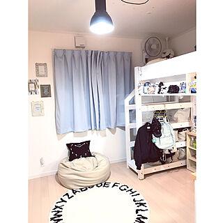 ベッド周り/IKEA/ロフトベッド/男の子の部屋/照明...などのインテリア実例 - 2019-02-12 21:22:58