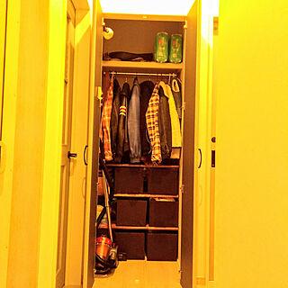 クローゼット収納の人気の写真(RoomNo.3209075)