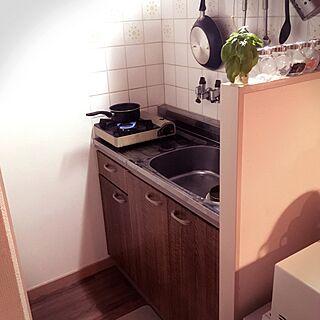1R、の「キッチン」についてのインテリア実例