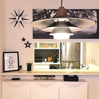 キッチン/IKEA/アートキャンバス/ペンダントライト/ダイニング...などのインテリア実例 - 2017-09-18 00:16:36