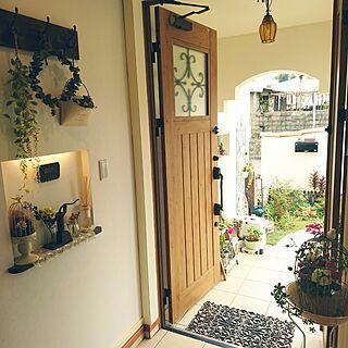 女性家族暮らし4LDK、ユーカリ 南欧風の家に関するiman.329さんの実例写真