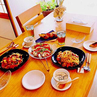 女性同棲4LDK、100均の食器に関するTenさんの実例写真