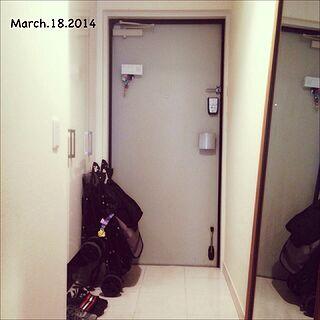 玄関/入り口/激狭/お掃除のインテリア実例 - 2014-03-19 16:30:47