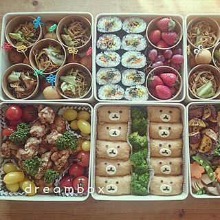 、運動会のお弁当に関するdreamboxさんの実例写真
