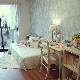 部屋全体/ランプ/照明/花のある暮らし/観葉植物...などのインテリア実例 - 2017-10-11 11:41:05
