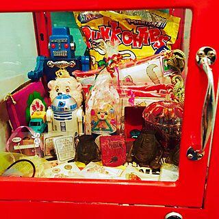 棚/おもちゃ/アンティーク/お気に入り/アメリカンダイナー...などのインテリア実例 - 2016-11-28 22:25:14