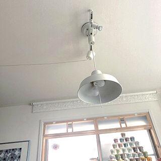 女性55歳の家族暮らし4LDK、IKEAファブリックに関するsuzyさんの実例写真