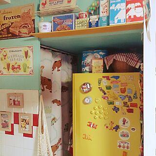 キッチン/冷蔵庫/リメイク/カッティングシート/DIY...などのインテリア実例 - 2016-06-12 11:26:39