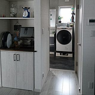 キッチン/VIERA/Panasonic洗濯機/トクラス洗面化粧台/ネスカフェバリスタ...などのインテリア実例 - 2017-09-25 15:37:30